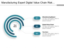 Manufacturing Expert Digital Value Chain Risk Operational Channel Migration Cpb