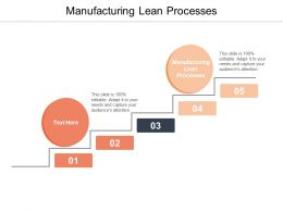 Manufacturing Lean Processes Ppt Powerpoint Presentation Summary Elements Cpb