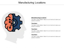 Manufacturing Locations Ppt Powerpoint Presentation Gallery Background Designs Cpb