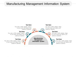 Manufacturing Management Information System Ppt Powerpoint Presentation Ideas Grid Cpb