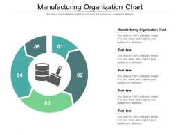 Manufacturing Organization Chart Ppt Powerpoint Presentation File Display Cpb
