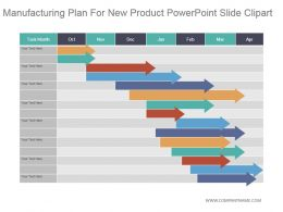 Manufacturing Plan For New Product Powerpoint Slide Clipart