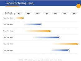 Manufacturing Plan Oct To April Ppt Powerpoint Presentation Visual Aids Example File