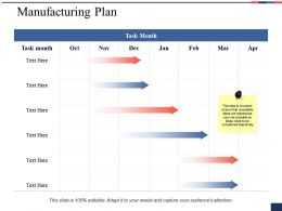 Manufacturing Plan Ppt Show Graphics Download