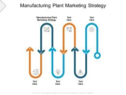 Manufacturing Plant Marketing Strategy Ppt Powerpoint Presentation Icon Cpb