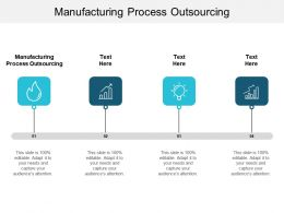 Manufacturing Process Outsourcing Ppt Powerpoint Presentation Icon Outline Cpb
