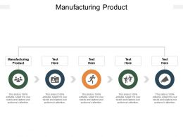 Manufacturing Product Ppt Powerpoint Presentation Outline Display Cpb