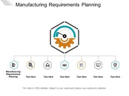 Manufacturing Requirements Planning Ppt Powerpoint Presentation Layouts Show Cpb