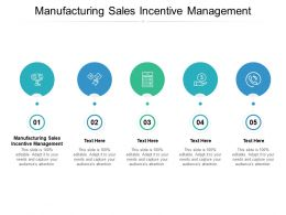 Manufacturing Sales Incentive Management Ppt Powerpoint Presentation Gallery Cpb