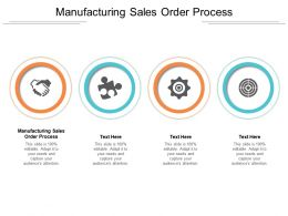 Manufacturing Sales Order Process Ppt Powerpoint Presentation Inspiration File Formats Cpb