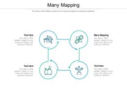 Many Mapping Ppt Powerpoint Presentation Infographic Template Slideshow Cpb