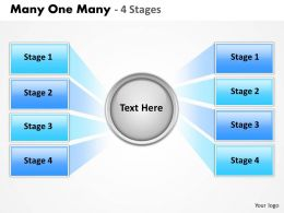Many One Many 4 Stages 5