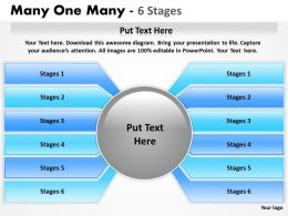 Many One Many 6 Stages 4