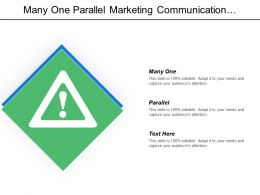 Many One Parallel Marketing Communication Process Positioning Communication