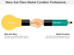 Many Sub Plans Market Condition Professional Development Series
