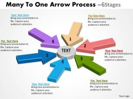 Many To One Arrow Process 6 Stages 12