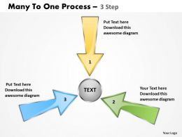 Many To One Process 3 Step 5