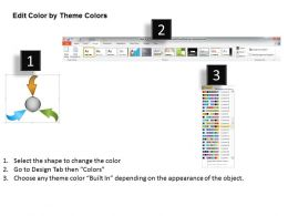 30095341 Style Linear Many-1 3 Piece Powerpoint Template Diagram Graphic Slide