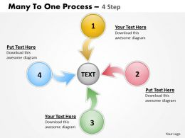 Many To One Process 4 Step 4