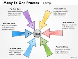 Many To One Process 6 Step 3