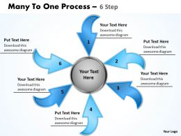 Many To One Process 6 Step 4