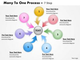 Many To One Process 7 Step 3