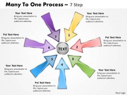 Many To One Process 7 Step 4