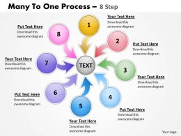 Many To One Process 8 Step 3