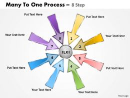 Many To One Process 8 Step 4