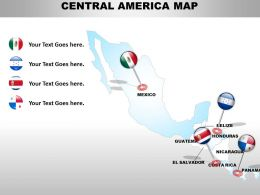 Map Design Of Central America 1114
