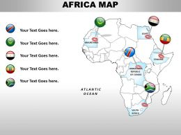 Map For Tour In Africa 1114