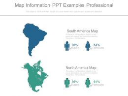 Map Information Ppt Examples Professional