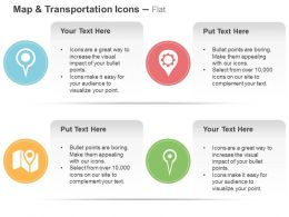 Map Multiple Location Indicator Ppt Icons Graphics