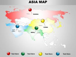 Map Of Asian Continents 1314
