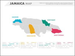 map_of_country_jamaica_with_states_powerpoint_slides_Slide01