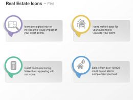 Map Of Home Ways From Home Calculator Eco Friendly Property Ppt Icons Graphics