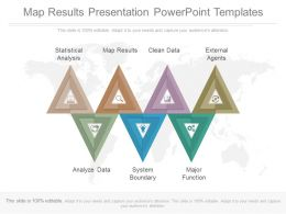 Map Results Presentation Powerpoint Templates