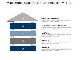 Map United States Color Corporate Innovation Objectives Product Management Cpb