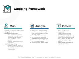 Mapping Framework Analyze Ppt Powerpoint Presentation Outline