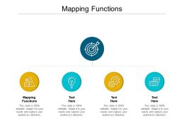 Mapping Functions Ppt Powerpoint Presentation Gallery Show Cpb