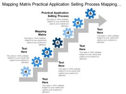 Mapping Matrix Practical Application Selling Process Mapping Matrix