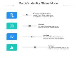 Marcias Identity Status Model Ppt Powerpoint Presentation Model Introduction Cpb