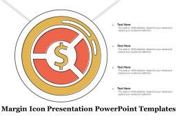Margin Icon Presentation Powerpoint Templates