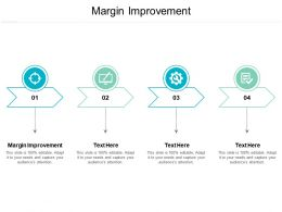 Margin Improvement Ppt Powerpoint Presentation Pictures Design Inspiration Cpb