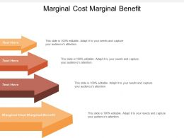 Marginal Cost Marginal Benefit Ppt Powerpoint Presentation File Icons Cpb