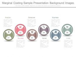 Marginal Costing Sample Presentation Background Images