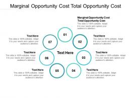 Marginal Opportunity Cost Total Opportunity Cost Ppt Powerpoint Presentation Inspiration Cpb