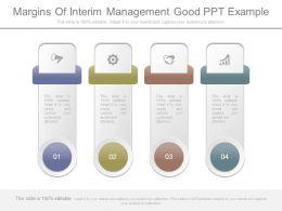 Margins Of Interim Management Good Ppt Example