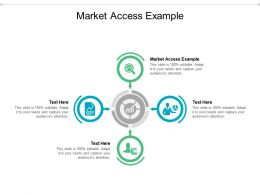 Market Access Example Ppt Powerpoint Presentation Gallery Slide Download Cpb