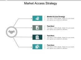 Market Access Strategy Ppt Powerpoint Presentation Inspiration Slide Download Cpb
